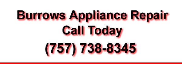 Burrows Appliance Repair Banner