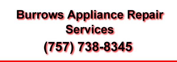 Burrows Appliance Repair Services Banner
